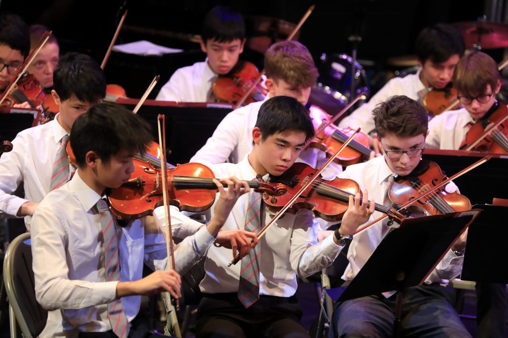 Abingdon School orchestra