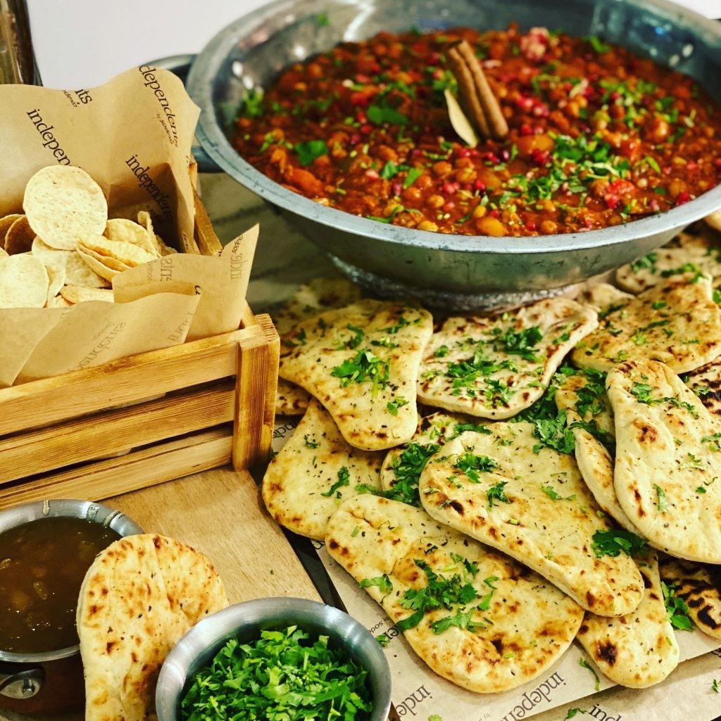 Abingdon School catering - chickpea tikka massala