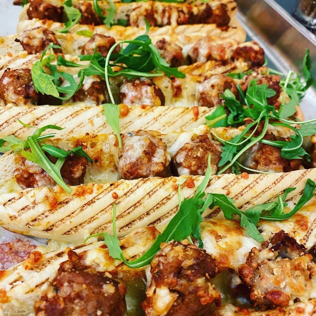 Abingdon School catering - meatball sub