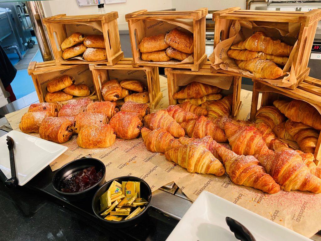 Abingdon School catering - pastries