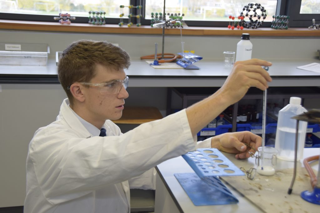 Abingdon School science lesson