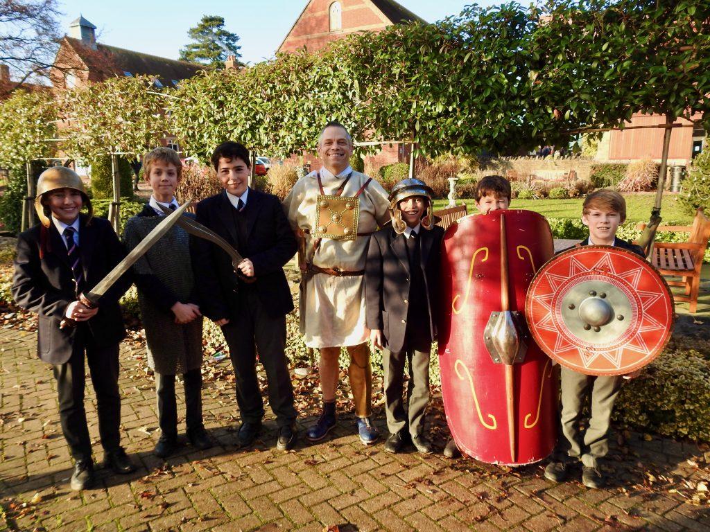 Abingdon School pupils