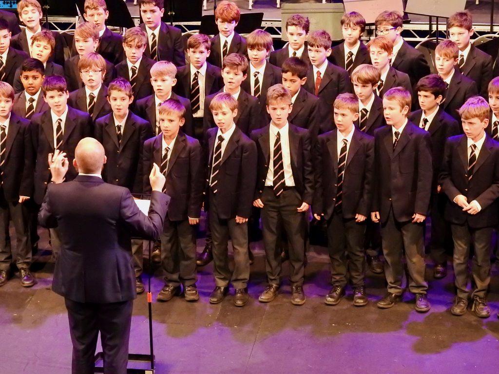 Abingdon School choir