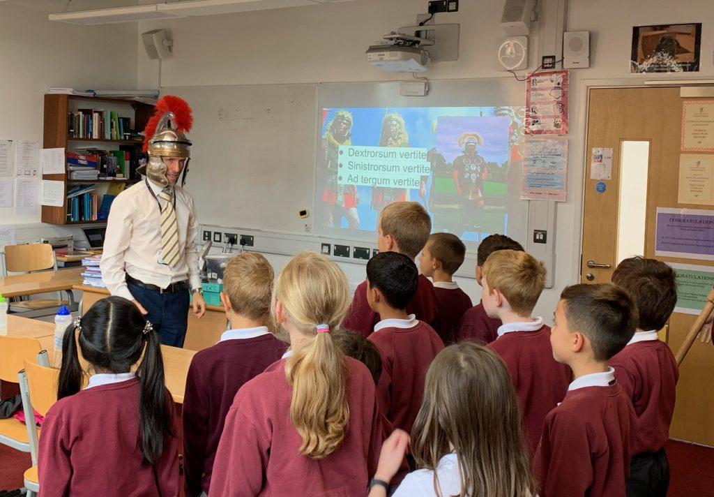 Abingdon School in Partnership classics lesson